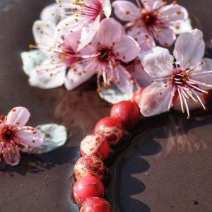 nostalgia bracelets bratari unisex din agate royal si onix hibiscus